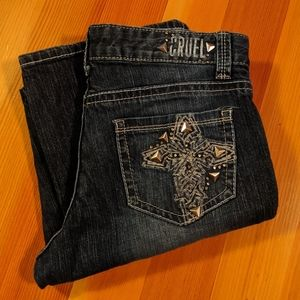 Cruel Sasha 7L Riding Cross Pocket Jeans 7 Long